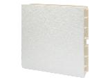 Кухонний цоколь білий глянцевий VOLPATO L=4000 H=100, фото 2