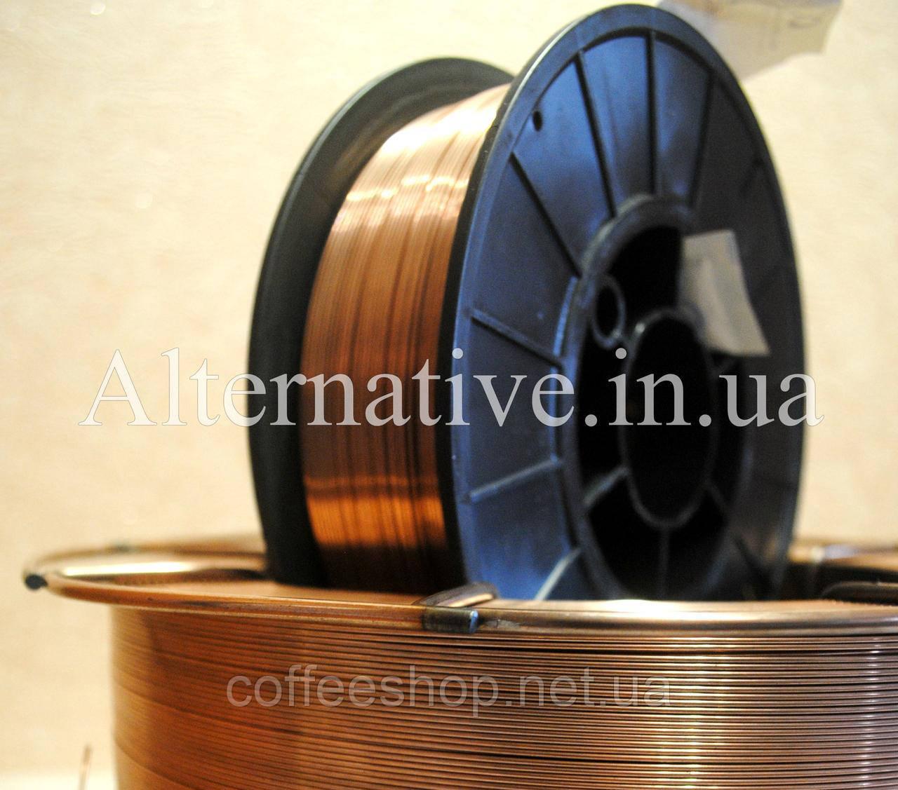 Сварочная проволока СВ08Г2С диаметром 1.0 мм (кассеты по 5 кг)