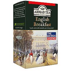 Чай Ахмад Ті Англійський до сніданку чорний листовий 100 грам