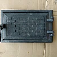 Дверца чугунная печная зольная (170х260мм)
