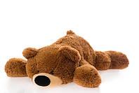 Большой лежачий медведь Умка 180 см коричневый, фото 1