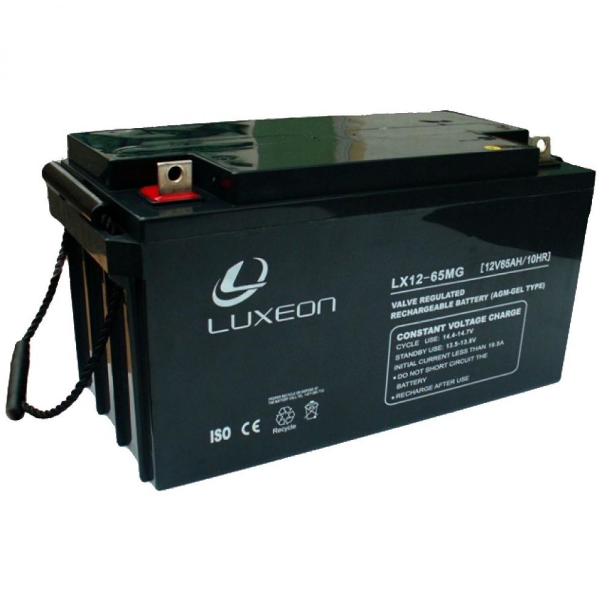 Аккумуляторная батарея Luxeon LX12-65MG 65Ач