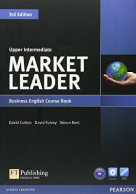 Market Leader 3rd Edition Upper-Intermediate Course Book with DVD-ROM