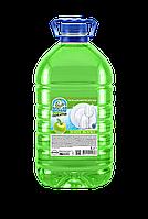 Средство для мытья посуды Balu Optima Зеленое яблоко 5 л пэт