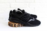 Мужские кроссовки черные New Balance 247