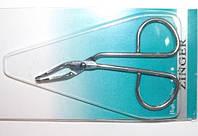 Пинцет для выщипывания бровей, бел.металл 26_1_70
