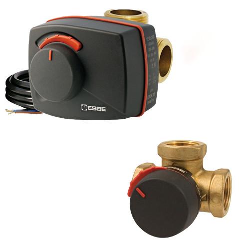 Комплект трехходовой клапан ESBE VRG 131 1 1/2 + электропривод ARA661 120s-90