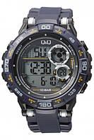 Годинники наручні, електронні Q&Q M174J004Y водонепроникні, многофункиональные