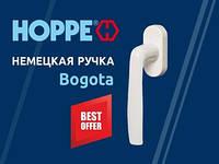 Ручка оконная Hoppe Bogota (Германия) 37 мм, белая, 2 винта Compakt