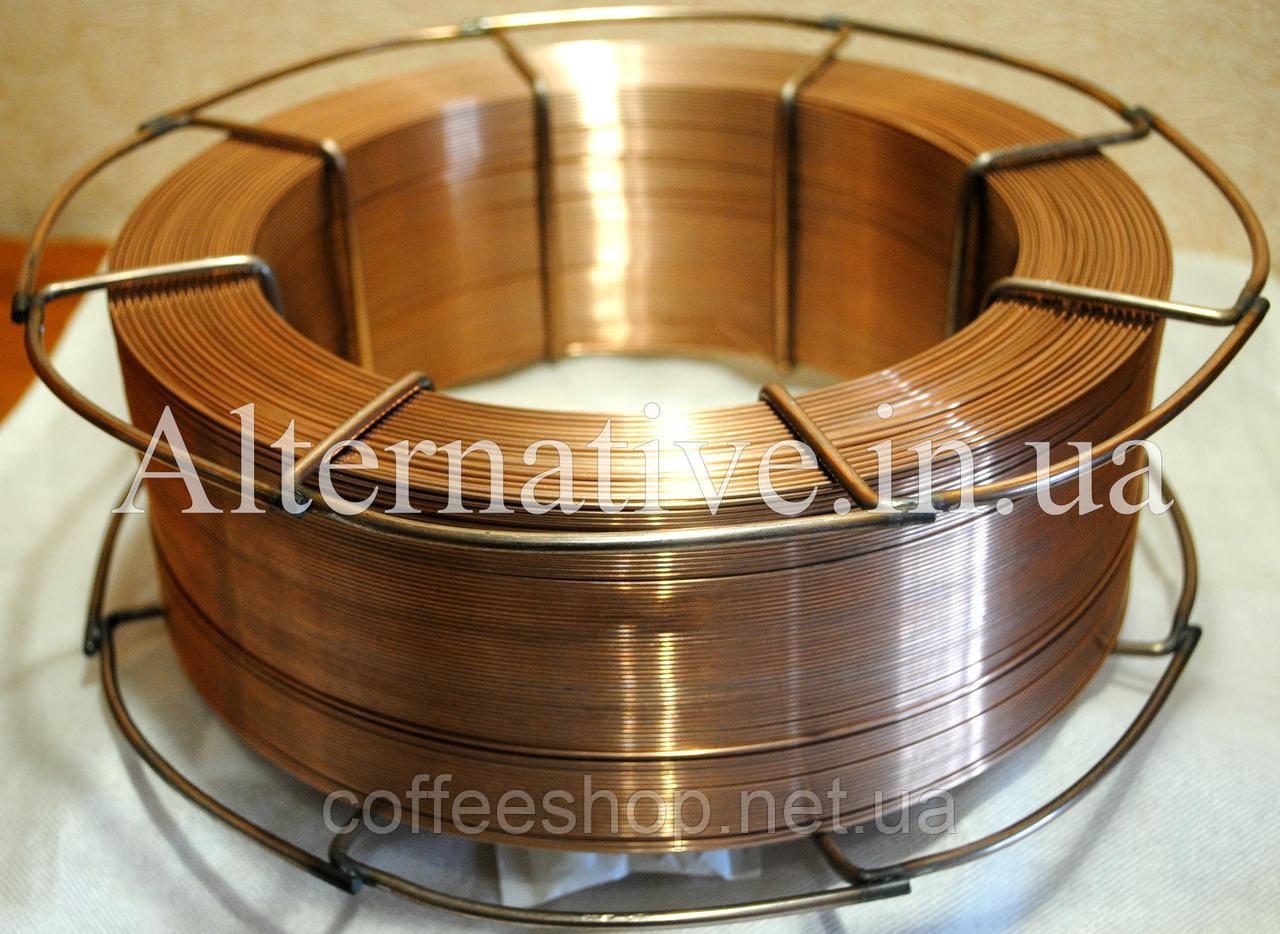 Сварочная проволока СВ08Г2С диаметром 1.0 мм (кассеты по 15 кг)