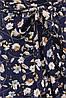 Женское платье синий-цветы София б/р, фото 4
