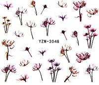 Водные наклейки для ногтей, YZW Vizavi Professional