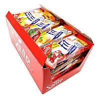 Упаковка диетического печенья Sante Fit Cereal Biskuits Ассорти без сахара 50 г х 12 шт