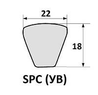 Ремень 2 УВ-2240 для жатки КМС, фото 1