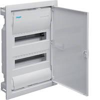 Распределительный щит VOLTA  для скрытой установки с металлической дверцей на 24(28) модулей