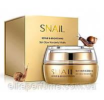Увлажняющий восстанавливающий крем для лица с фильтратом улиточной слизи BIOAQUA Snail 50г
