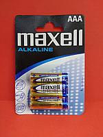 Батарейка Maxell Alkaline AAA LR03 1.5V