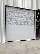 Промышленные ворота Алютех Серии TREND,3500*3000 стандартный монтаж