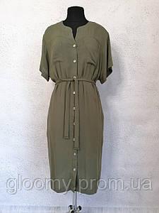 Женское платье под пояс