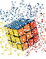 """Картина по номерам. Rosa """"Кубик Рубика"""" 35х45см N00013186"""