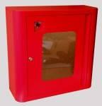 Шкаф пожарный для пож. рукава (600х600х230)(красный, белый)