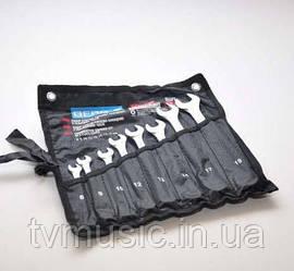 Набор ключей рожково-накидных Berg 48-965 Cr-V (8 шт.)