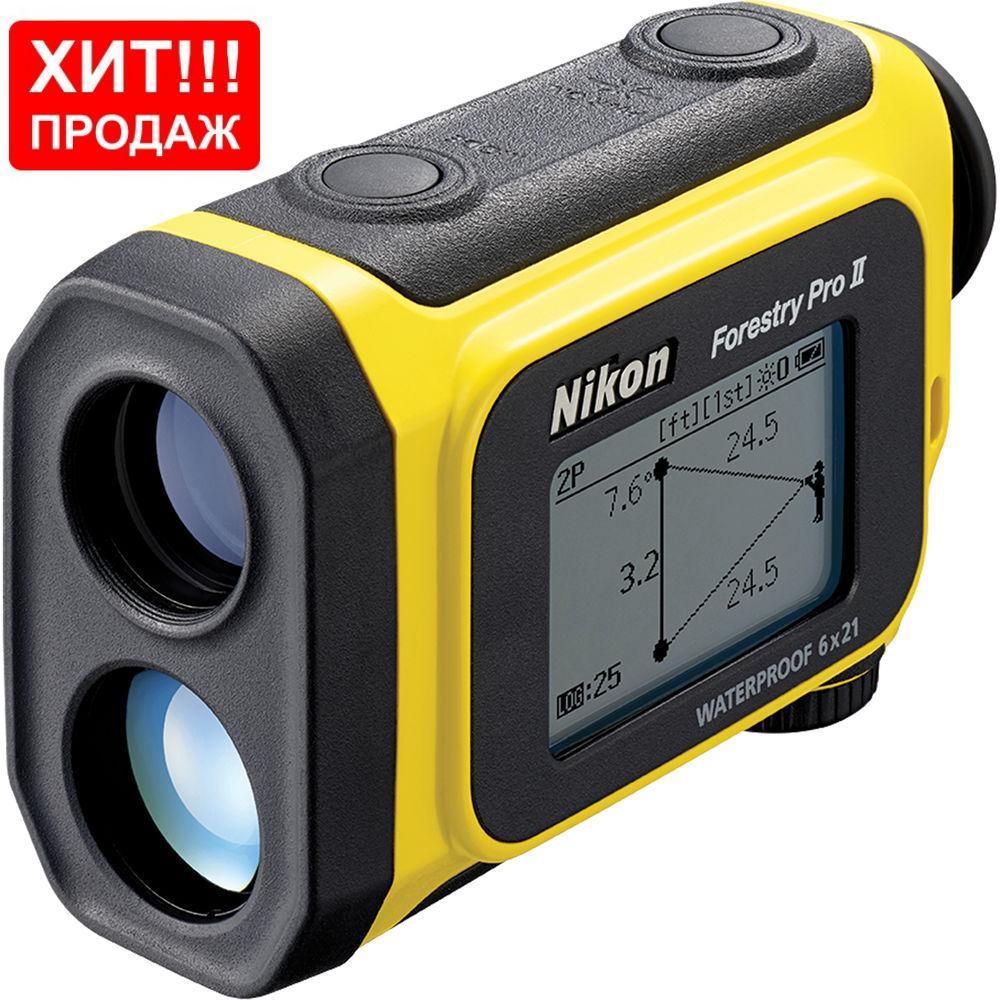Лазерный дальномер Nikon Forestry Pro II Laser Rangefinder (16703)
