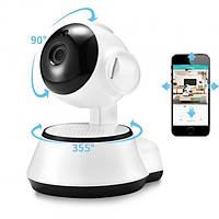 IP-камера Wireless Smart WiFi Camera 360 WI-FI Белая
