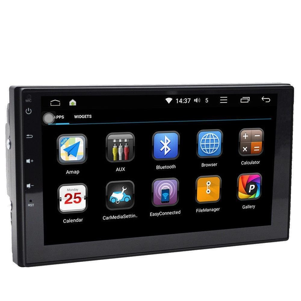 Автомагнитола 2 DIN Pioneer Pi-707 slim NEW 2дин GPS Android 9.1