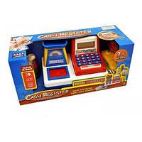 Игровой набор Little Princess Детский кассовый аппарат со звуком и светом на батарейке