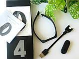 Фитнес-браслет Smart Band M4 Черный, фото 2