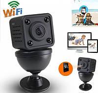 HD Wi-Fi мини камера MySmartCamera 1080P ip p2p беспроводная видеокамера с ночным видением (473281191)