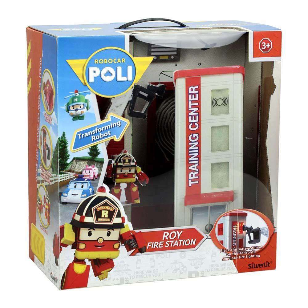 Robocar Poli Пожежна станція Рой