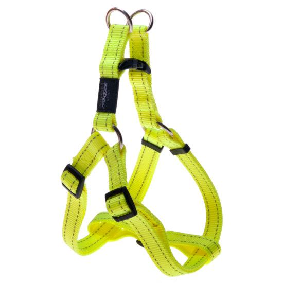 Нейлоновая шлея для собак, желтый  Utility Step-In (Рогз) M: 42-61 см / 16 мм
