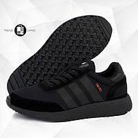 Мужские кроссовки в стиле Adidas Iniki Full Black