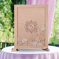 Книга пожеланий на свадьбу, свадебная книга пожеланий, картина пожеланий на свадьбу
