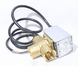 Трехходовой клапан Honeywell V4044F1034/U с сервоприводом и датчиком NTC