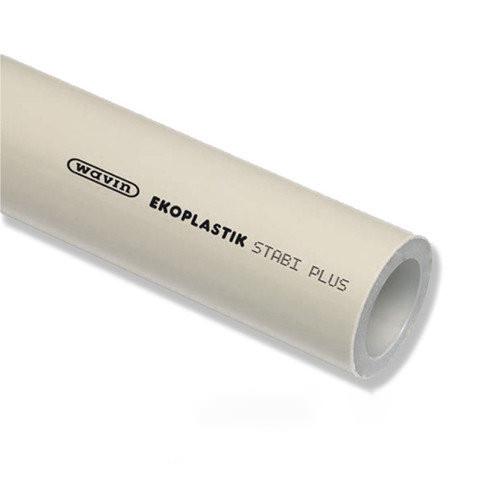 Труба WAVIN Ekoplastik STABI PLUS PP-RCT PN20 Ø63×8,6