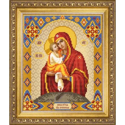 Владимирская божья матерь вышивка бисером 42