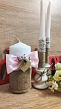 Свадебный набор Этничный. Цвет розовый., фото 3