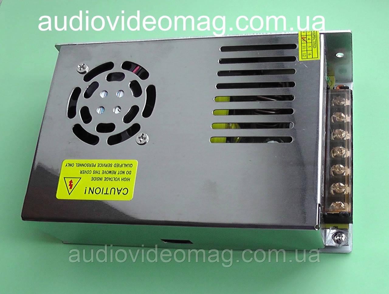 Блок питания 12V 20A (IP20) 240 Wt для светодиодных лент