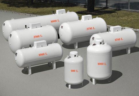 Емкости для сжиженого газа