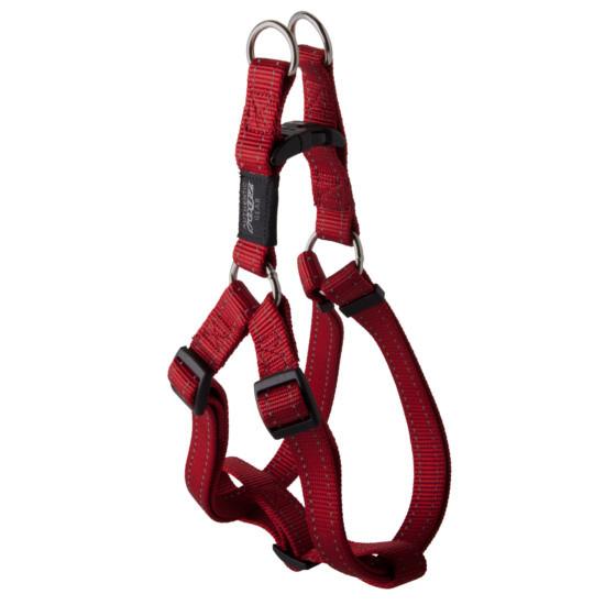Нейлоновая шлея для собак, красный Utility Step-In (Рогз) M: 42-61 см / 16 мм
