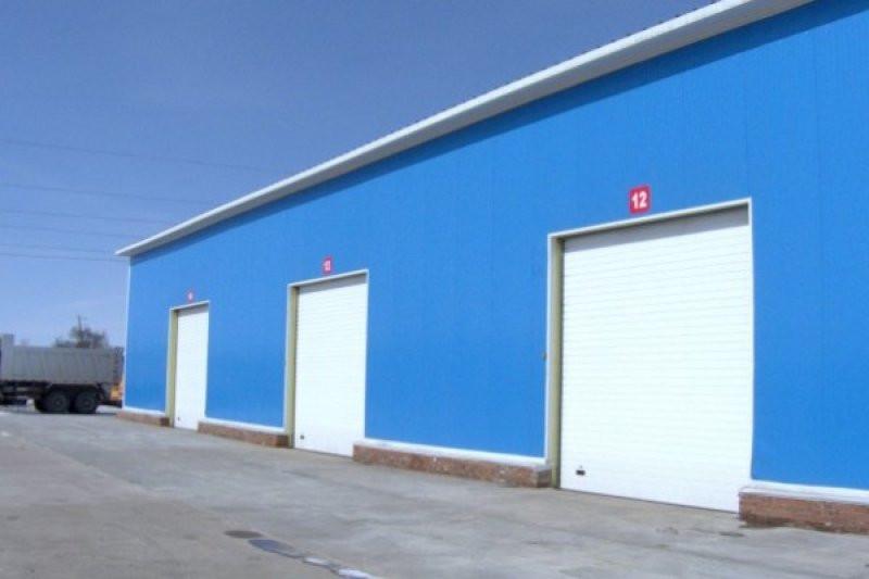 Промышленные ворота Алютех Серии TREND,7000*5000 стандартный монтаж