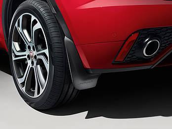 Брызговики задние для Jaguar E-Pace 2017- оригинальные 2шт J9C5307