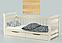 Кровать односпальная детская (подростковая) Доминик LUNA, фото 7