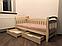 Кровать односпальная детская (подростковая) Доминик LUNA, фото 5