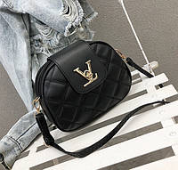 Стильная женская сумочка клатч. Женская мини сумка черная. Маленькая сумочка.
