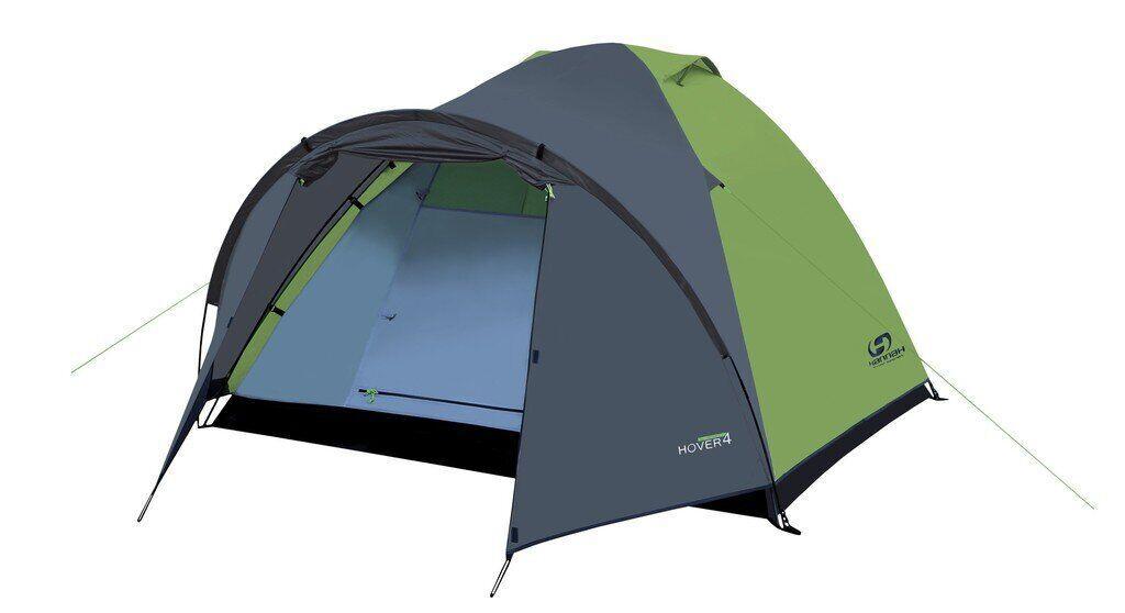 Палатка Hannah Hover 4 spring green-cloudy gray (10003223HHX)