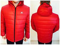 Ветровка Adidas, адидас, красная, спортивная, молодежная, стильная, 502